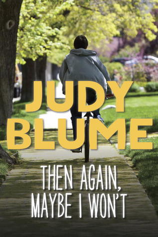 Then Again, Maybe I Won't Judy Blume epub download and pdf download