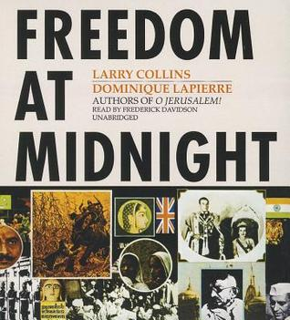 Free download Freedom at Midnight PDF by Dominique Lapierre, Larry Collins, Frederick Davidson