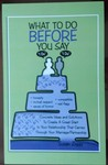 "What to Do Before You Say ""I Do"" by Susan Ziggy"