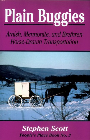 Plain Buggies: Amish, Mennonite, And Brethren Horse-Drawn Transportation. People's Place Book N