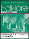 Cryptozoology in the Medieval and Modern Worlds (FolkloreVolume 117, Issue 2, 2006 RESEARCH PAPER)
