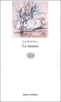 La nausea by Jean-Paul Sartre
