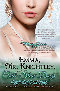 Emma, Mr. Knightley, and Chili-Slaw Dogs by Mary Jane Hathaway