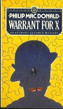 Warrant For X by Philip MacDonald