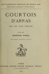 Courtois d'Arras by Edmond Faral