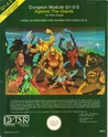 Against The Giants (Advanced Dungeons & Dragons Module G1 2 3)