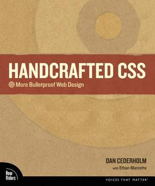 Handcrafted CSS by Dan Cederholm