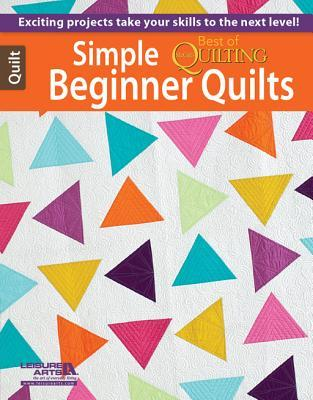 Simple Beginner Quilts  by  McCalls Quilting