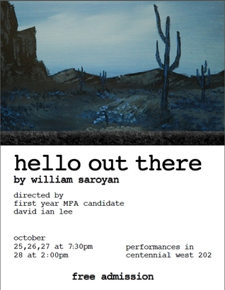 William Saroyan hello out there zusammenfassung