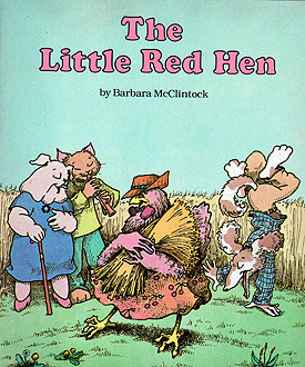The Little Red Hen by Barbara McClintock