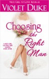 Choosing the Right Man (The CAN'T RESIST series, #3)