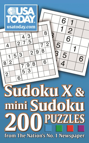 USA TODAY MINI SUDOKU, SUDOKU X