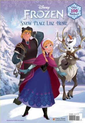 Snow Place Like Home (Frozen: Giant Coloring Book)
