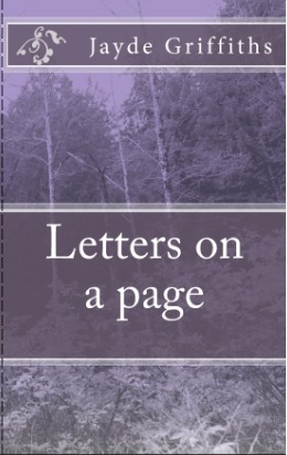 Letters on a page