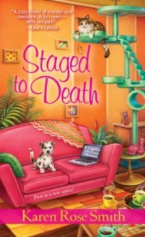 Staged to Death (Caprice De Luca Mystery #1)