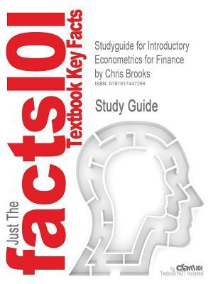 Studyguide for Introductory Econometrics for Finance by Brooks, Chris, ISBN 9780521694681