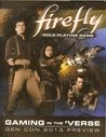 firefly Role-Playing Game Gaming in the 'Verse
