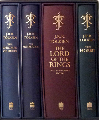 The Hobbit 70th Anniversary Edition Hardback Book With Slipcase - J R R Tolkien