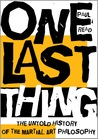 One Last Thing by Paul Read