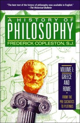 A History of Philosophy 1: Greece and Rome