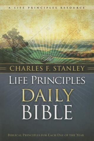 New King James Version - Life Principles Daily Bible by Charles F. Stanley