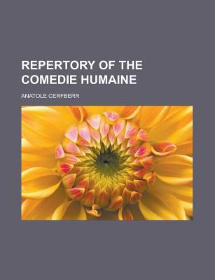 Repertory of the Comedie Humaine