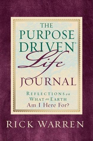Purpose Driven Life Journal by Rick Warren