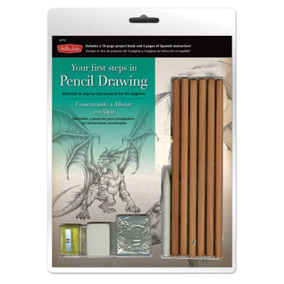 Pencil Drawing Starter Pack: Materials and Instruction for the Beginner