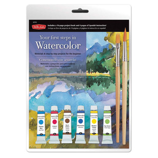 Your First Steps in Watercolor: Materials & step-by-step projects for the beginner
