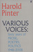 Various Voices: Sixty years of Prose, Poetry, Politics, 1948-2008