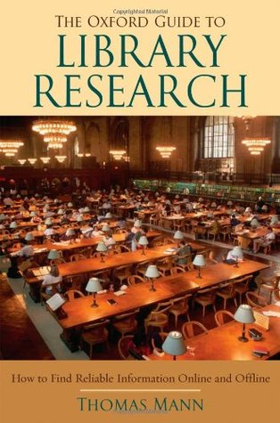Download for free The Oxford Guide to Library Research RTF