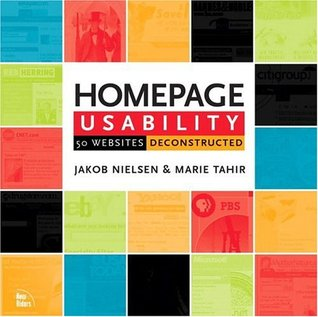 Homepage Usability by Jakob Nielsen