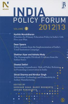 India Policy Forum  by  Shekhar Shah