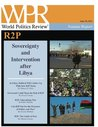 R2P: Sovereignty and Intervention After Libya (World Politics Review Features)