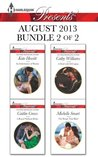 Harlequin Presents August 2013 - Bundle 2 of 2: An Inheritance of Shame\A Royal Without Rules\A Deal with Di Capua\The Rings that Bind (Sicily's Corretti Dynasty)