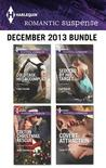Harlequin Romantic Suspense December 2013 Bundle: Cold Case, Hot Accomplice\Colton Christmas Rescue\Seduced by His Target\Covert Attraction