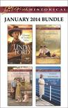 Love Inspired Historical January 2014 Bundle: Claiming the Cowboy's Heart\Lone Wolf's Lady\The Wyoming Heir\Journey of Hope
