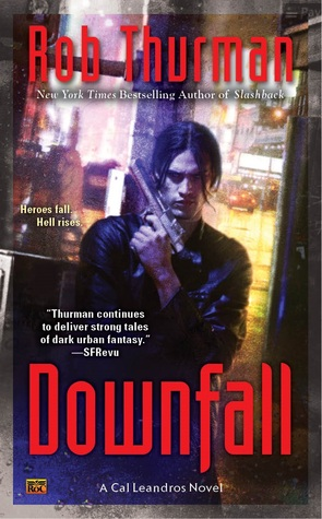 Downfall (Cal Leandros, #9)
