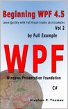 Beginning WPF 4.5 by Full Example Vol 2