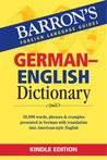 BARRONS GERMAN ENGLISH DICTIONARY (German Edition)