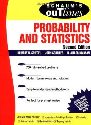 Schaum's Outline of Probability and Statistics by Murray R ...