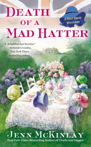 Death of a Mad Hatter (A Hat Shop Mystery, #2)