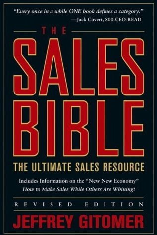 The Sales Bible by Jeffrey Gitomer