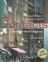Contacts Euro Edition: Langue Et Culture Francaises