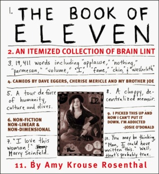The Book of Eleven by Amy Krouse Rosenthal