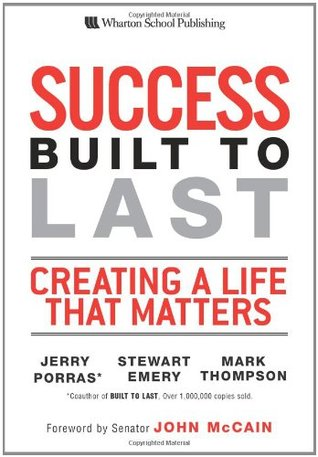 Success Built to Last by Jerry Porras