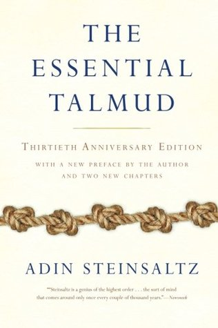 The Essential Talmud by Adin Even-Israel Steinsaltz