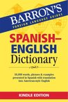 BARRON'S SPANISH ENGLISH DICTIONARY