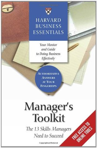 Manager's Toolkit by Harvard Business School Press