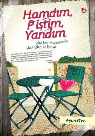 novel hamdim pistim yandim, resensi novel